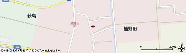 山形県酒田市熊野田仁田28周辺の地図