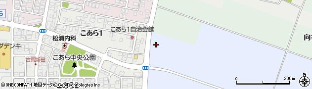 山形県酒田市古荒新田東南田周辺の地図