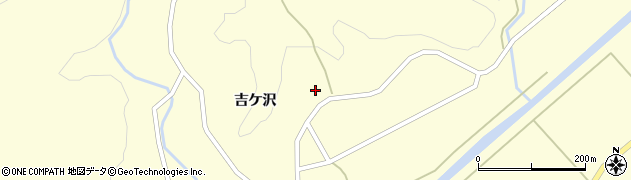 山形県酒田市北俣吉ケ沢92周辺の地図