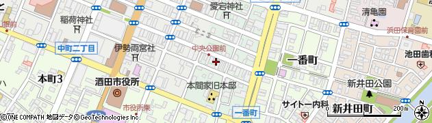 山形県酒田市二番町8周辺の地図