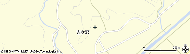 山形県酒田市北俣吉ケ沢102周辺の地図