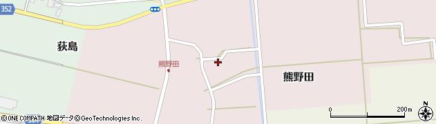 山形県酒田市熊野田仁田19周辺の地図