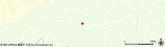 山形県酒田市中野俣白石沢周辺の地図