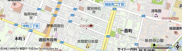 山形県酒田市二番町7周辺の地図
