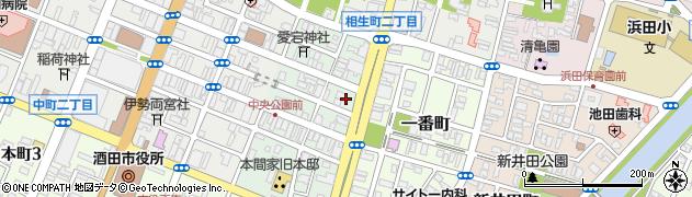 山形県酒田市二番町5周辺の地図