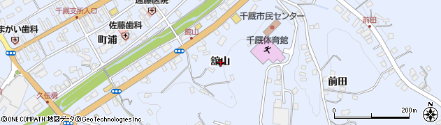 岩手県一関市千厩町千厩舘山周辺の地図