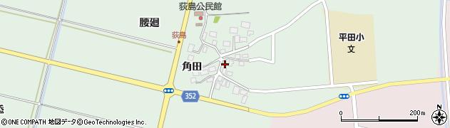 山形県酒田市荻島面桜51周辺の地図