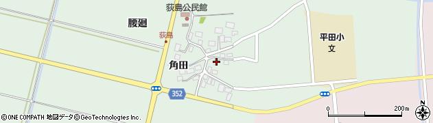 山形県酒田市荻島面桜43周辺の地図