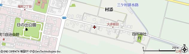 山形県酒田市大多新田32周辺の地図