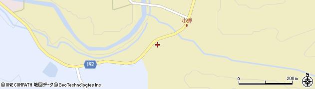 山形県最上郡金山町中田572周辺の地図