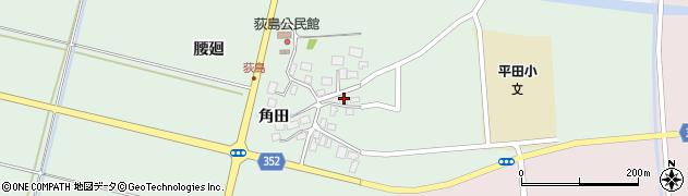 山形県酒田市荻島面桜42周辺の地図