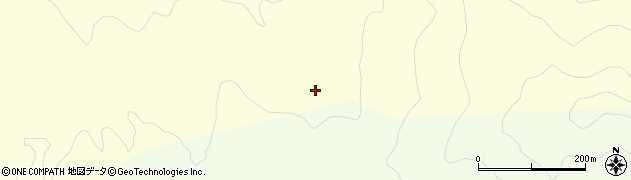 山形県酒田市北俣高山周辺の地図