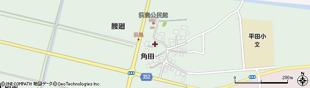 山形県酒田市荻島腰廻34周辺の地図