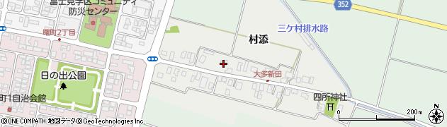 山形県酒田市大多新田58周辺の地図