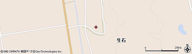 山形県酒田市生石十二ノ木105周辺の地図