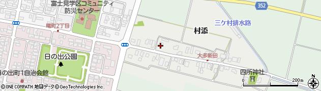 山形県酒田市大多新田59周辺の地図