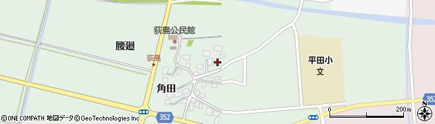 山形県酒田市荻島腰廻23周辺の地図