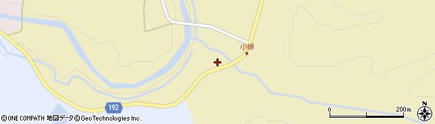 山形県最上郡金山町中田498周辺の地図