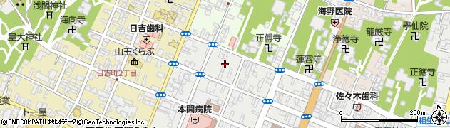 山形県酒田市中町3丁目1周辺の地図