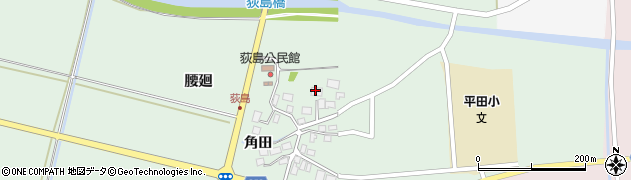 山形県酒田市荻島腰廻27周辺の地図