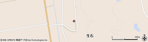 山形県酒田市生石十二ノ木116周辺の地図