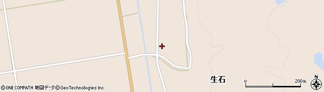 山形県酒田市生石十二ノ木121周辺の地図