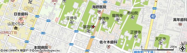 善称寺周辺の地図