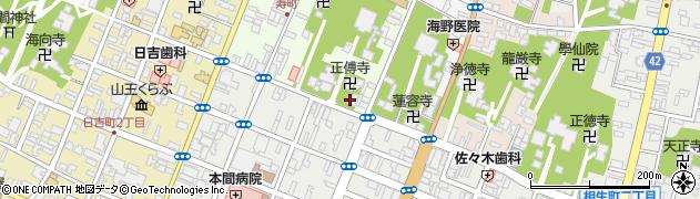 等圓寺周辺の地図