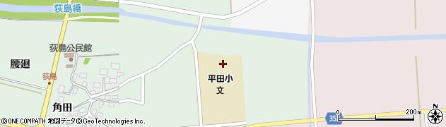 山形県酒田市荻島面桜8周辺の地図