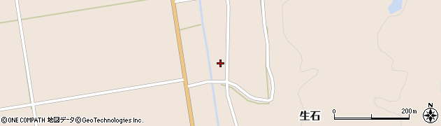 山形県酒田市生石十二ノ木122周辺の地図