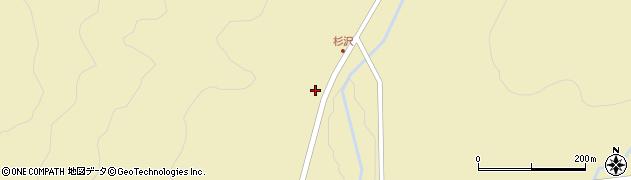 山形県最上郡金山町中田627周辺の地図