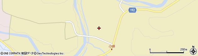山形県最上郡金山町中田小蝉周辺の地図