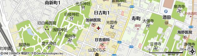 雄秀3番館周辺の地図