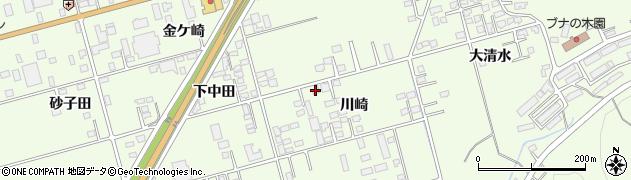 岩手県一関市萩荘川崎周辺の地図