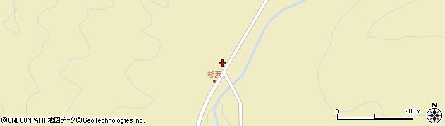 山形県最上郡金山町中田327周辺の地図