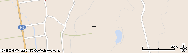 山形県酒田市生石大森山164周辺の地図