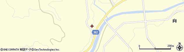 山形県酒田市北俣丸山村14周辺の地図