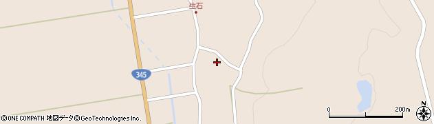 山形県酒田市生石十二ノ木198周辺の地図