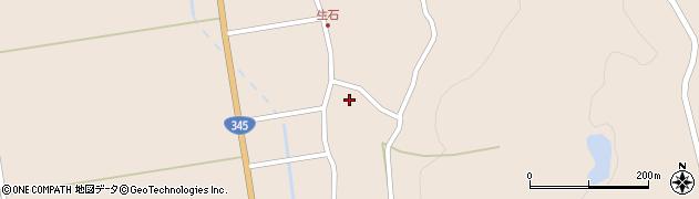 山形県酒田市生石十二ノ木197周辺の地図