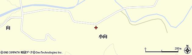 山形県酒田市北俣小向20周辺の地図