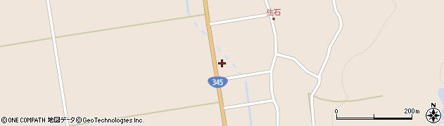 山形県酒田市生石登路田73周辺の地図