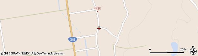山形県酒田市生石十二ノ木191周辺の地図