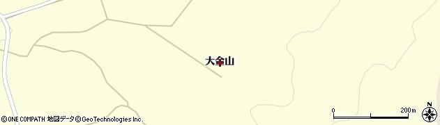 岩手県一関市千厩町清田大金山周辺の地図