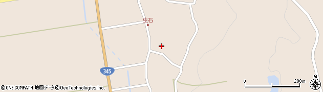 山形県酒田市生石奥山91周辺の地図