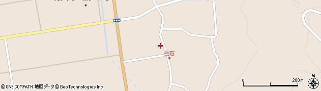 山形県酒田市生石登路田28周辺の地図