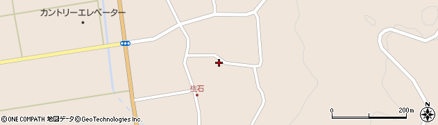 山形県酒田市生石奥山159周辺の地図