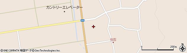 山形県酒田市生石登路田8周辺の地図