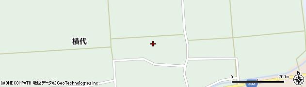 山形県酒田市横代千代桜79周辺の地図