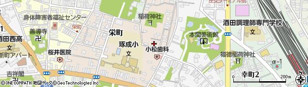山形県酒田市栄町5-3周辺の地図