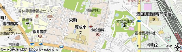 山形県酒田市栄町5-5周辺の地図